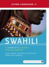 **World Languages Swahili : A Complete Course for Beginners** by Living Language