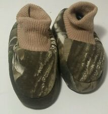 Camoflauge Baby Booties Shoes Soft Infant Shoes Sz 0-3 Months Hunting Deer Crib