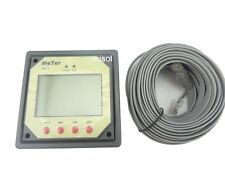 Remote meter LCD display (MT1) for solar regulator (for duo battery two battery)