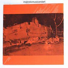 ANDY WARHOL ORANGE CAR CRASH THE VELVET UNDERGROUND LP ORIGINAL VINYL VERY RARE