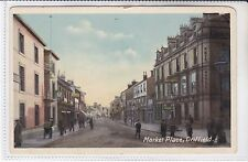 RARE VINTAGE MRS H OKEY, MARKET PLACE, DRIFFIELD POSTCARD - YORKSHIRE