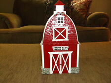 """ORIGINAL RED BARN COOKIE JAR"" PLAYS THEME SONG FROM GREEN ACRES FARM MUSICAL"