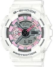 Brand New Casio G-Shock GMAS110MP-7A S-Series Ana-Digital White Watch NWT!!
