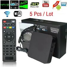 5Pcs S805 Smart TV Box Android4.4 Quad Core Media Player 1G+8G WIFI Kodi 1080P