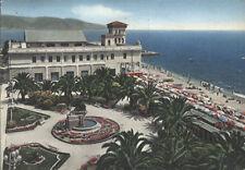 Alte Postkarte - Loano - Gärten und Kursaal