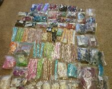 Huge Jewelry Making Bead Lot Gemstones Pearls FIREMOUNTAIN GEMS 27+ LBS Pounds