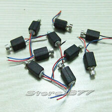 10pcs Pager and Cell Phone Vibrating Micro Motor 2.5V-4.0VDC With Two Leads s883