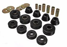 Energy Suspension Chevy C10 C15 K15 2WD 67-72 Pickup Body Mount Bushings (BLACK)