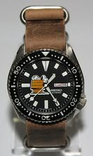 Premium SEIKO 6309-7290 Vintage Dive Watch Custom Snoopy House Dial Automatic