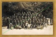 Cpa Carte Photo fanfare du 161e RI infanterie Saint Mihiel Reims m0122
