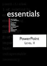 PowerPoint 97 Level II Essentials with 3.5 Disk (Essentials (Que Paperback))