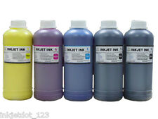 5x500ml Pigment refill ink for Epson SureColor T3000 T5000 T7000 Wide-format