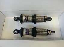 "10"" open Gaz Gold racing aluminium adjustable shocks."