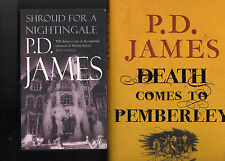 Death Comes To Pemberley & Shroud For A Nightingale by P.D.James