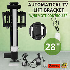 700mm AUTOMATICAL TV LIFT BRACKET CAPACITY 75KG W/REMOTE CONTROLLER FLAT PANEL