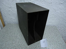 70er Jahre LP-Ständer - Box  70s Record Rack schwarz Nr.9