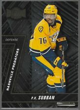 16/17 Showcase Metal Universe PK Subban MU-5 Predators