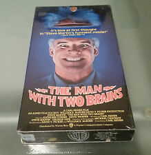 The Man With Two Brains (VHS,1983) Steve Martin Comedy