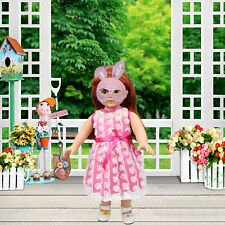 Fashion Doll Dress Clothes for 18 Inch American Girl Doll Party Baby Toy Access