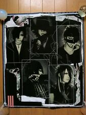 the GazettE DOGMATIC FINAL Shikkoku Ltd POSTER JAPAN RUKI URUHA AOI REITA KAI