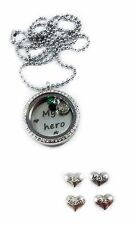 United States army mom son living memory locket necklace US fast shipping