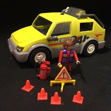 Playmobil 3214 24 Hour Emergency Truck With Lights