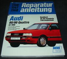 Reparaturanleitung Audi 80 16V / 90 Quattro Typ 89 B3 20V 4 + 5 Zylinder ab 1989