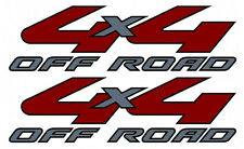 2008-2010 Vinylmark 4x4 Off Road Decals for Ford (F250, F350) Super Duty SILVER