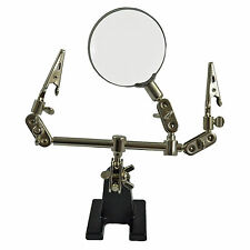 Helping Hands Bench Tool Third Hand Soldering Aid with Magnifier