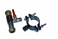 Tap plumbing kit for undersink reverse osmosis filters