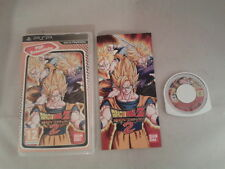 JUEGO SONY PSP DRAGON BALL Z SHIN BUDOKAI 2 ESSENTIALS COMPLETO PAL ESPAÑA