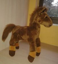 Plush Animal Alley Brown Horse 12""