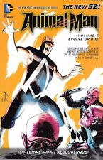 Animal Man Vol 5: Evolve Or Die! by Lemire & Albuquerque 2014 TPB DC New 52