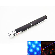 5mw 405nm Visible Beam Light Powerful Blue Laser Pointer Pen Torch Flashlight