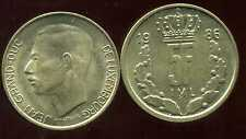 LUXEMBOURG  5 francs  1986   ( bis )