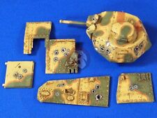 Verlinden 1/35 Point Blank Damaged Char B1 bis Turret & Parts (for Tamiya) 2761