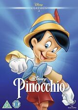 PINOCCHIO - DISNEY - NEW DVD - 2 ON SPINE - O RING SLIP COVER - LTD EDITION