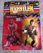 VINTAGE RARE DEMOLITION AX WRESTLER WWF ACTION FIGURE SUNGOLD REMCO KO 1980 MOC