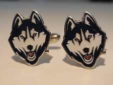 UCONN Cufflinks Huskies NCAA University of Connecticut