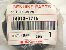 KAWASAKI AIR DUCT 14073-1716 ZX600J ZX600G ZZR600 ZX 600 ZZR NEW # 2 + 3