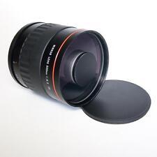 Kelda 500mm f / 6.3 T2 SPECCHIO REFLEX LENS Inc CANON EOS T2 MOUNT