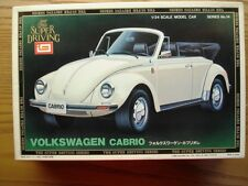 "IMAI ""Super Driving Series"" 1:24 Scale Volkswagen Beetle Cabrio Model Kit - New"