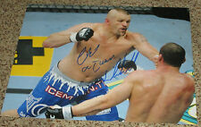 "Chuck ""Iceman"" Liddell Signed 11x14 UFC Photo with proof"