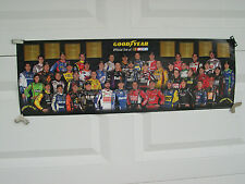 GOODYEAR RACING NASCAR POSTER SPRINT CUP DRIVERS 2012
