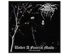 DARK THRONE under a funeral 2010 - WOVEN SEW ON PATCH official merchandise