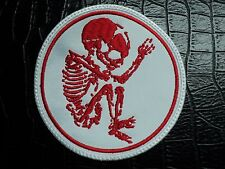 cannibal corpse butchered at birth  WITHE   EMBROIDERED  PATCH