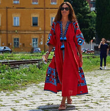 Ukrainian Embroidered DRESS Vita Kin style Embroidered vyshyvanka Boho Chic
