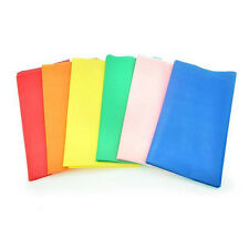 Plastic Table Cloth Party Wedding Rectangle Disposable Table Cover Color Random