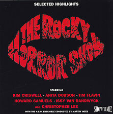 THE ROCKY HORROR PICTURE SHOW - CD - SELECTED HIGHLIGHTS