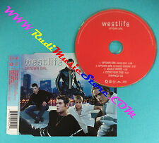 CD singolo Westlife Uptown Girl 74321 855452 EUROPE 2001 no mc lp vhs (S30*)